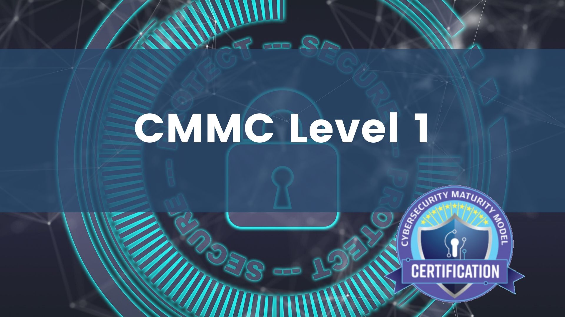 CMMC Level 1 course image